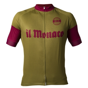 Il Monaco Retro Cycling Shirt voorkant