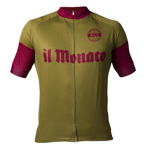Il Monaco Retro Cycling Shirt voorkant