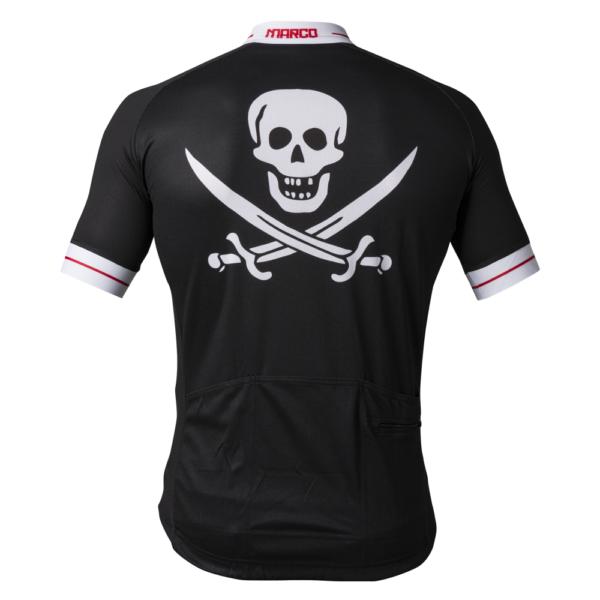 Il Pirata Retro Cycling Shirt achterkant