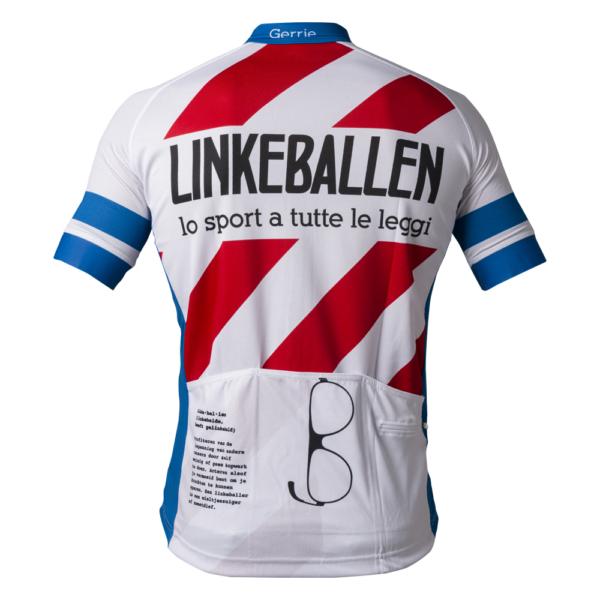 Linkeballen Retro Cycling Shirts achterkant