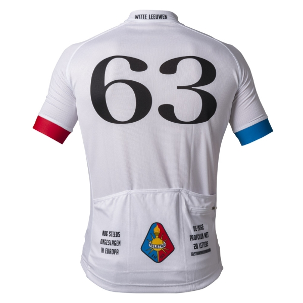 Telstar Retro Cycling Shirt achterkant